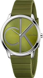 Calvin Klein Minimal Green Dial Men's Watch K3M211WL