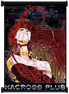 Macross Plus Anime Fabric Wall Scroll Poster (16