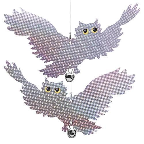XINXI-YW Conveniente Dispositivo Repelente de Repelente del susto del pájaro Reflectante del...