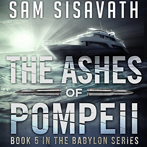 The Ashes of Pompeii audiobook cover art