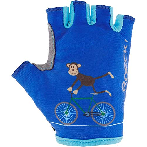 Roeckl Kinder Toro Handschuhe, Monaco blau, 3