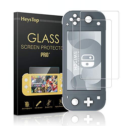 Protector de Pantalla para Nintendo Switch Lite, HeysTop HD Film Cristal Vidrio...