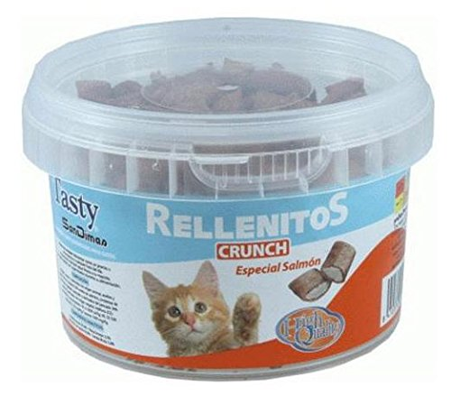 San Dimas Tasty Gatos RELLENITOS Crunch Salmon 110GR