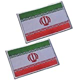 2pcs Iran Flag...image