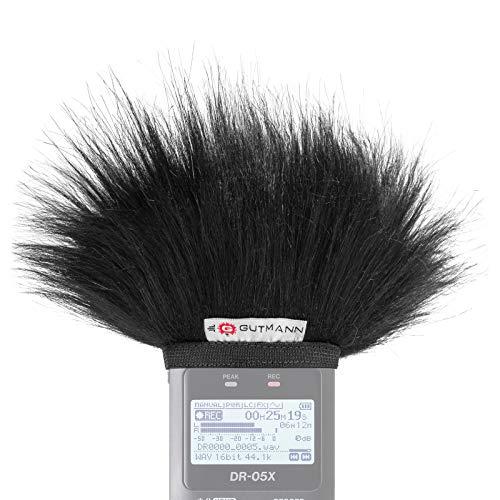 Gutmann Mikrofon Windschutz für Tascam DR-05 / DR-05 V2 / DR-05X