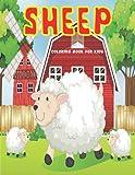 Sheep Coloring Book For Kids: A Fun & Relaxing Coloring Book for Sheep - Cute Sheep Coloring Book of Cute & Adorable Sheep ll Sheep Activity Book For Boys & ... ll Sheep