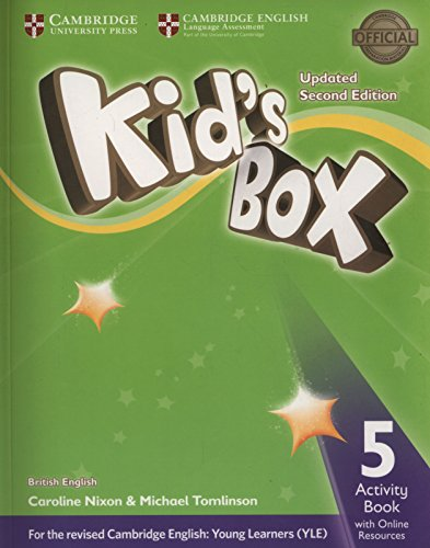 Kids Box 5 - Activity Book With Online Resources Updated -02 Edition