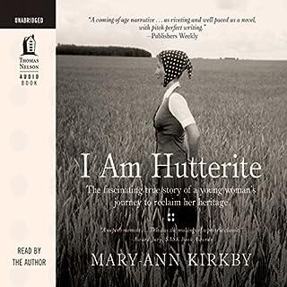 I Am Hutterite audiobook cover art