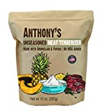 Anthony's Unseasoned Meat Tenderizer with Bromelain and...