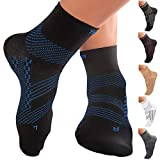 TechWare Pro Ankle Compression Socks - Plantar Fasciitis Sock & Foot Support