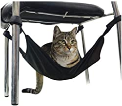 ErYao Cat Seat Bed Hammock Under Chair, Cat Hammock Soft Cat Bed,Cat Hammock Bed Pet Cage Hammock, Hanging Soft Pet Bed for Kitten Ferret Puppy or Small Pet