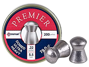 Crosman LDHP226P Ultra Heavy .22-Caliber Domed Pellet 200-Count