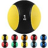 arteesol Balones medicinales, 1, 2, 3, 4, 5, 6, 7, 8, 9, 12 kg Balones de Peso Muerto Grip Entrenamiento de Fuerza y acondicionamiento, Cardio y Core