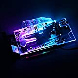 Bykski GPU Water Block Full-Cover Computer Water Liquid Cooling Graphic Card RBW LED Block for NVIDIA RTX 2070 Founders Edition