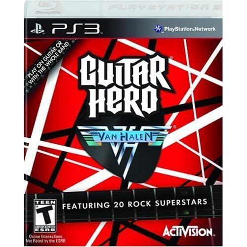 Guitar Hero Van Halen - Playstation 3 (Game only)