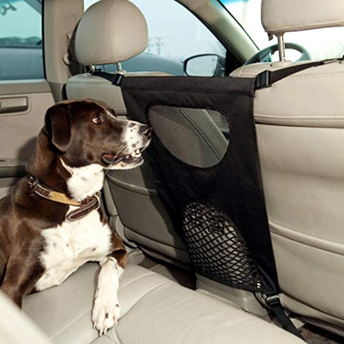 GoodStore Dog Car Net Barrier Pet Barrier with Auto Safety Mesh Organizer Baby Stretchable Storage...
