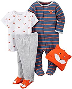 Carter's Baby Boys' 4 Pc Sets 126g35...