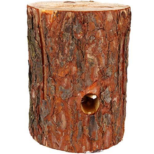 COM-FOUR® Zweeds vuur met ontstekingslont, Finse toorts voor kookruimtes buiten, boomtoorts, tuinbrander