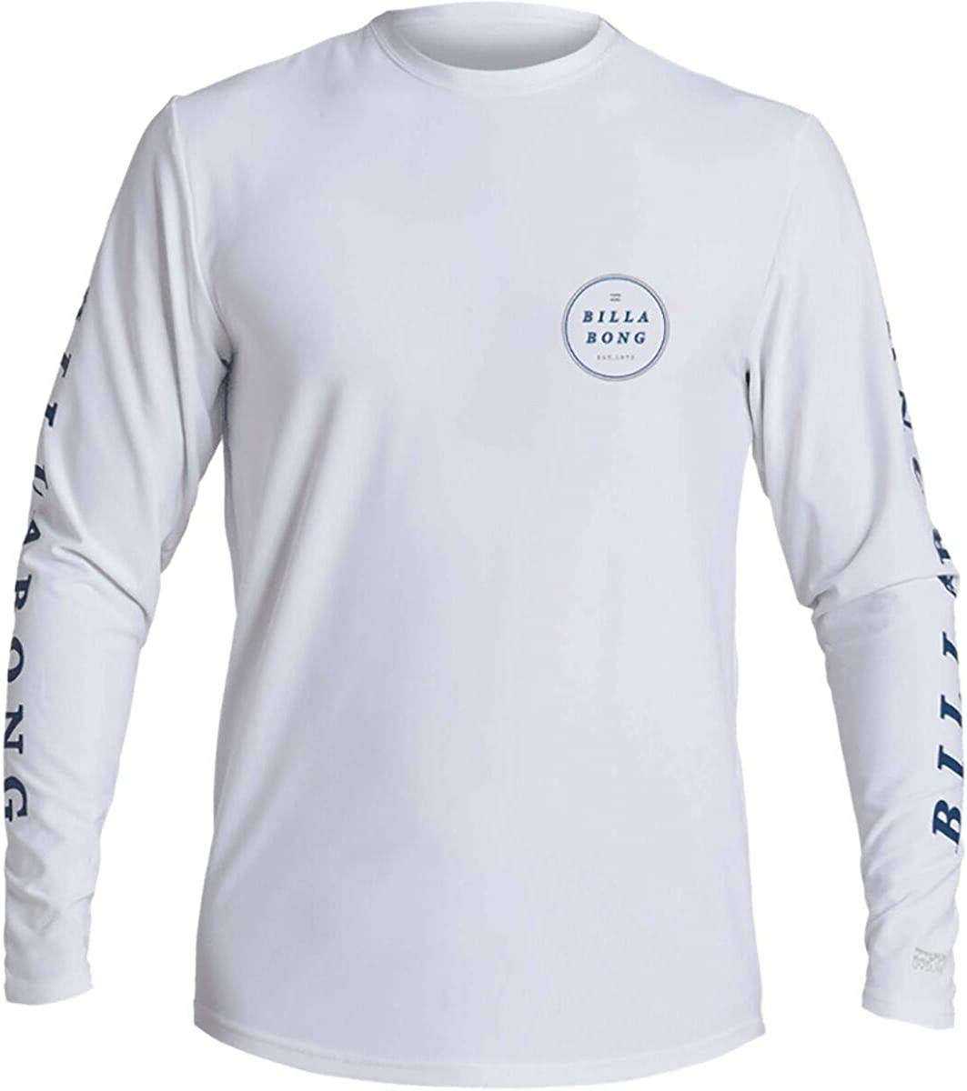 Billabong Classic Loose Fit Long Sleeve Rashguard Surf Tee Shirt