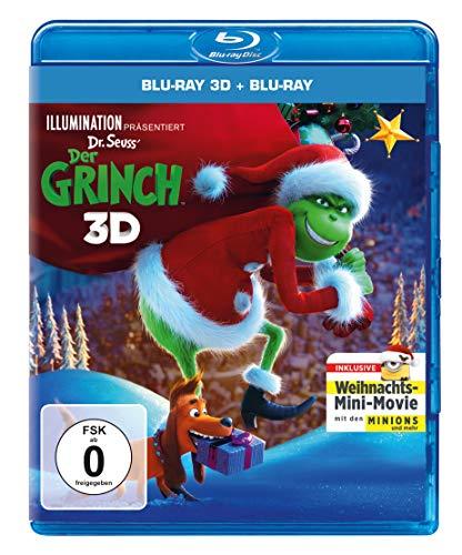 Der Grinch (2018) - Weihnachts-Edition (Blu-ray 3D) (+ Blu-ray)