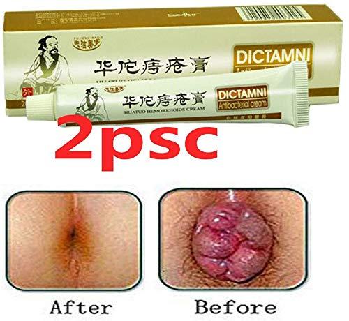 Hemorrhoids-Cream-DICTAMNI-Antibacterial Cream Chinese Herbal for Treatment Hemorrhoids Cream(2pcs)