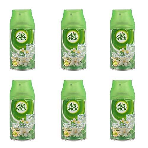 Airwick Nachfüller Weiße Blumen für Freshmatic Max - 6er Pack (6 x 250 ml)