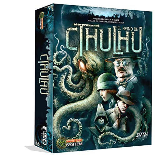 Z-Man Games- Pandemic El Reino de Cthulhu, Color (ZM7114ES)