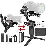 WEEBILL-S compatibile con combo mirrorless e DSLR mainstream; combo come Sony A7Ⅲ + FE 24-70mm F2.8 e Canon 5D4 + EF 24-70mm F2.8 possono essere perfettamente bilanciati e stabilizzati per scatti cinematografici fluidi in diversi scenari Formato comp...