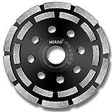 HERZO Mola a Tazza Diamantata, Disco Abrasivo Diamantato 125 mm (5inch)