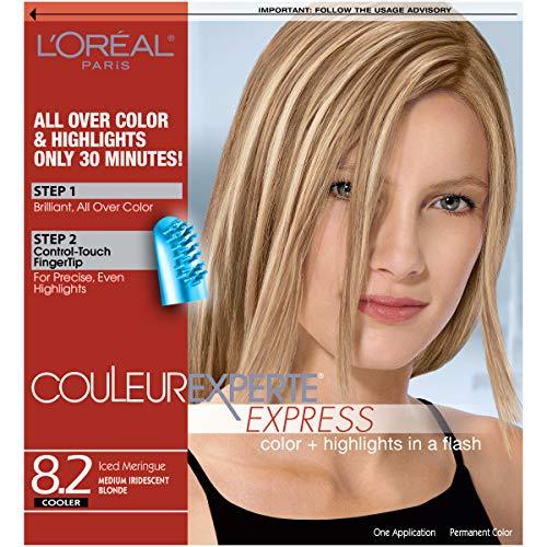 L'Oreal Paris Couleur Experte Color + Highlights in a Flash, Medium Iridescent Blonde - Ice