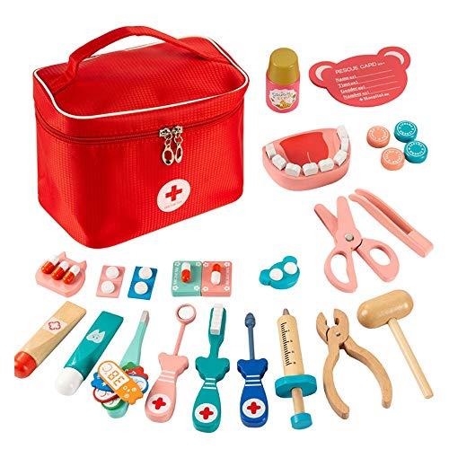 Lihgfw Houten speelgoed set Boy Girl Toolbox Kinderen 3-6 Jaar oud puzzel Early Education