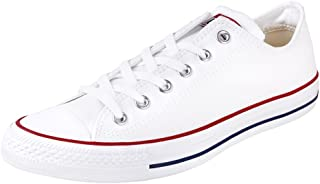 Converse M7652: Chuck Taylor All Star Low Top Optical White Casual Oxfords