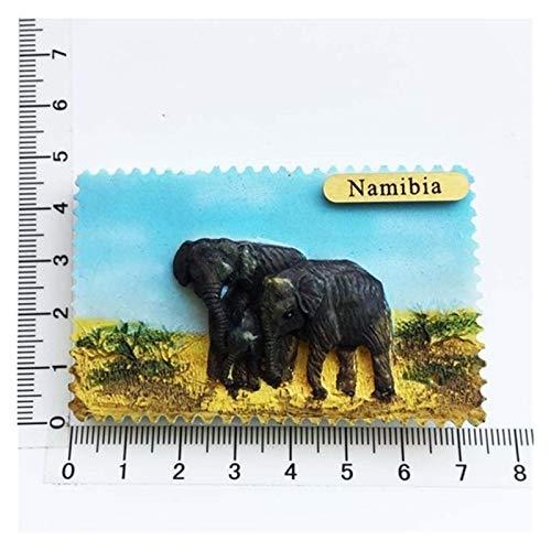JSJJAWS Imanes Nevera África Namibia Turista Frigorífico Imán Souvenir Creativo Resina 3D Refrigerador Imanes para Accesorios de Cocina Decoración Inicio Regalo (Color : 1)