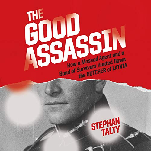 The Good Assassin audiobook cover art