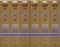GONESH LAVENDER ラベンダー スティック 20本入り X 6パック (120本)