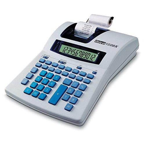Ibico IB410192 - Calculadora Impresora térmica, 12 dígitos