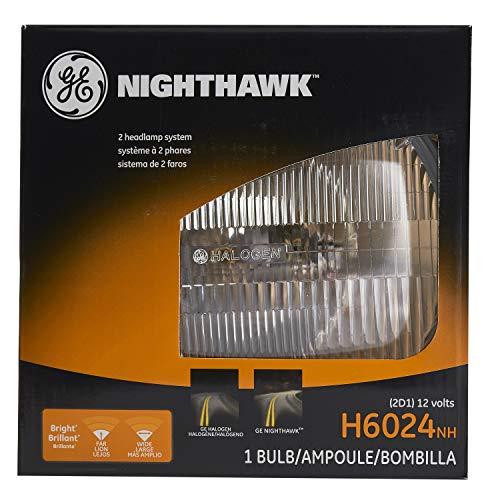 GE Lighting H6024NH Nighthawk Automotive Halogen Sealed Beam Headlight Bulb