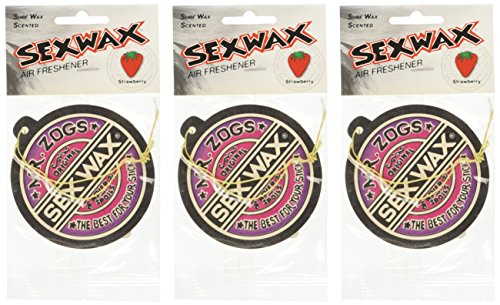 Sex Wax Air Freshener (3-Pack, Strawberry)