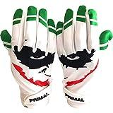 Primal Gloves Youth Smiley Joker Football Gloves
