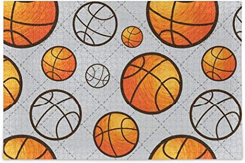 Rompecabezas para adultos 1000 - Rompecabezas difícil de baloncesto piezas para adolescentes diferentes juegos de rompecabezas