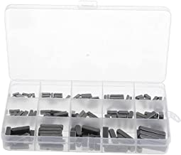 Ronde Ended Veer Sleutel Shat Sleutel Motor As Veer Sleutel Set Parallelle Aandrijfas 3-6mm 140PCS Zwart