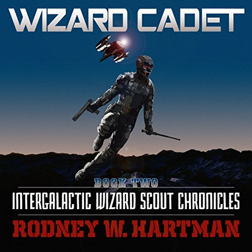 Wizard Cadet audiobook cover art