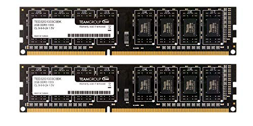 Team デスクトップ用メモリ DDR3 1333MHz PC3-10600 ECOパッケージ (2GBx2枚(4GBkit))