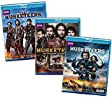 Musketeers: The Complete Series BBC Video Blu-ray Collection – The Complete First, Second and Third Seasons (Season 1 / Season 2 / Season 3)