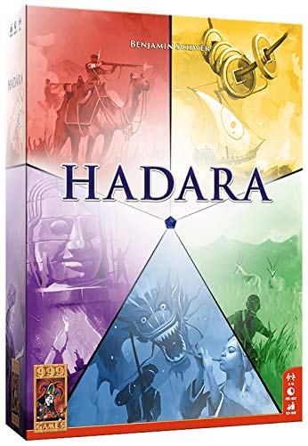 999 Jeux - Hadara Jeu de Plateau - à partir de 10 Ans - lun