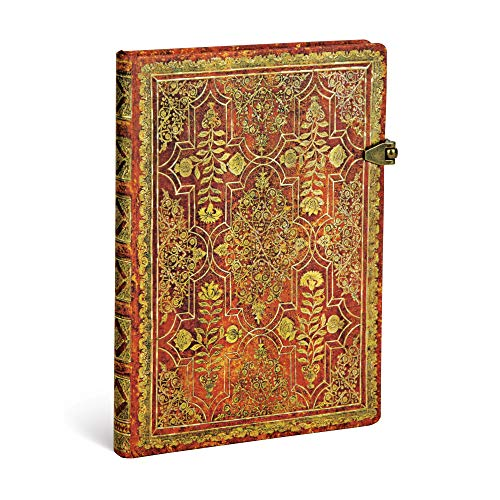 Paperblanks Herbstfiligran Persimone Notizbuch Midi Liniert (Fall Filigree)