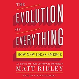 The Evolution of Everything audiobook cover art