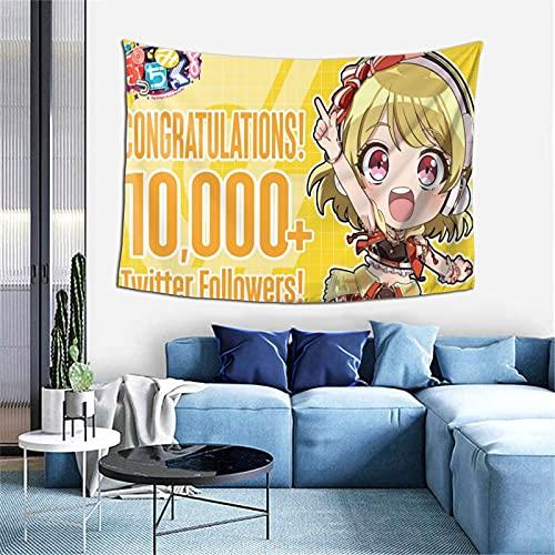 Rossam D4dj Petit Mix Wall Tapestry Wall Art Living Room Bedroom Home Decor (60 X 40inch)