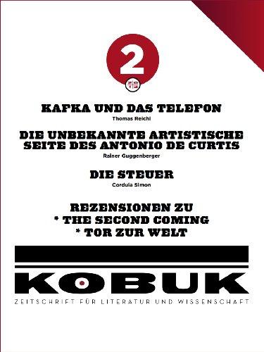 Kobuk - Zeitschrift für Literatur und Wissenschaft 9 (2/2012) (German Edition)