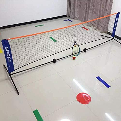 Badminton Netz Tragbares Badmintonnetz, Verstellbares Badminton-Volleyballnetz Mit Ständern 3,1 * 0,9 M Klappbares Tennisnetz Im Freien Mit Rahmen Badmintonnetze Garnituren